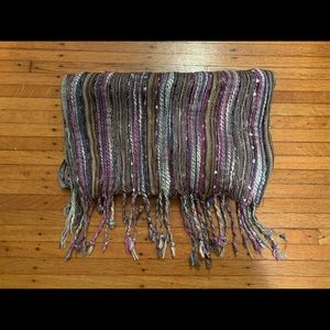 Urban Outfitters Purple Shimmer scarf